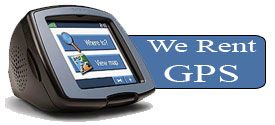We Rent GPS Navigation System